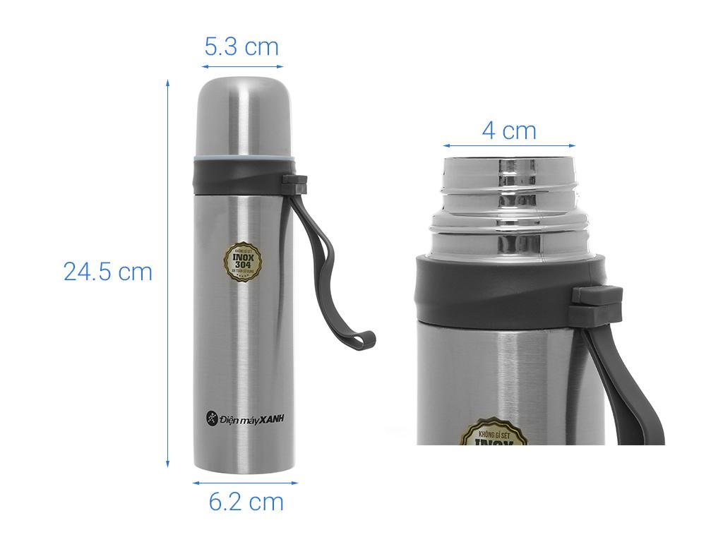 Bình giữ nhiệt 500ml Điện máy XANH YNQE-3021 (giao màu ngẫu nhiên) 9