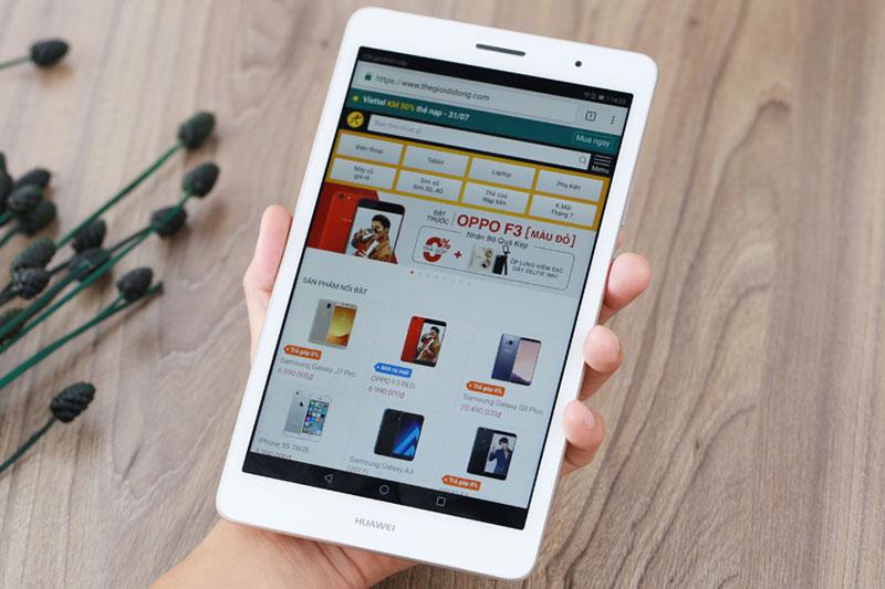 Nội dung hiển thị rõ ràng   Huawei MediaPad T3 8.0