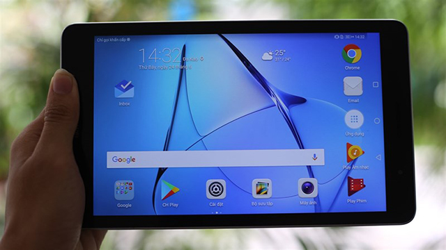 Huawei MediaPad T3 10 - អេក្រង់ច្បាស់ល្អ