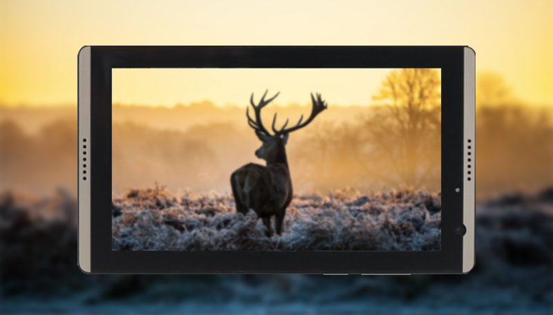 Hình ảnh chup sáng trên máy tính bảng Itel Tab it1703