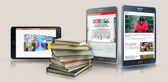 Samsung Galaxy Tab A 8.0 (2017) - Lướt web nhanh hơn với công nghệ kết nối 4G