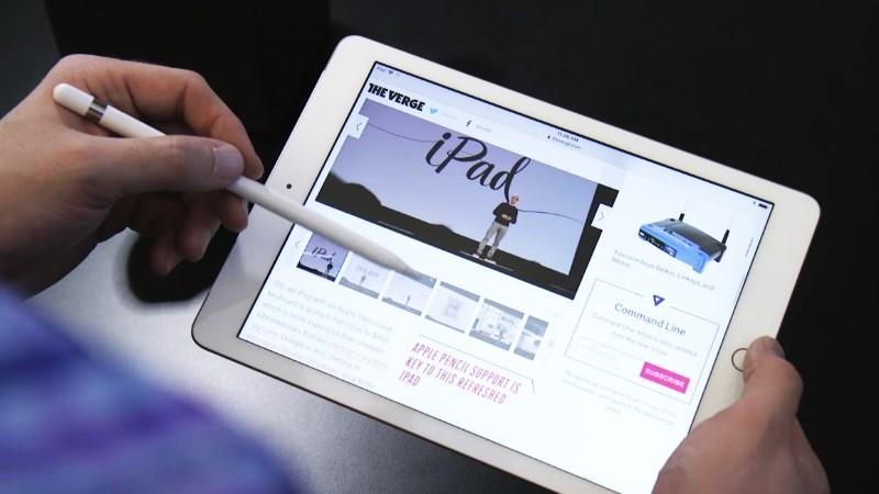 iPad Wifi Cellular 2019 kết nối với Apple Pencil