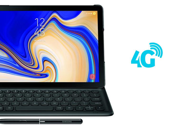 Tablet - ថេបប្លេត Samsung Galaxy Tab S4 10.5 inch S-Pen - 4G