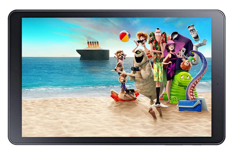 Máy tính bảng Samsung Galaxy Tab A 10.5 inch - Thoải mái xem phim giải trí với màn hình rộng | DienmayXANH