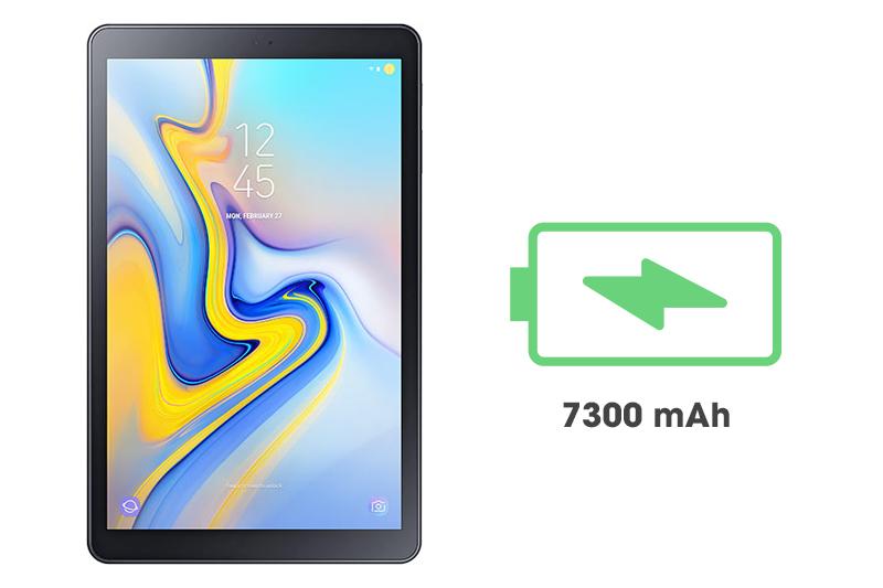 Máy tính bảng Samsung Galaxy Tab A 10.5 inch - Dung lượng pin lớn | DienmayXANH