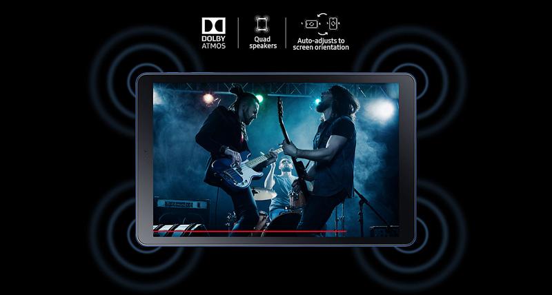Tablet - Samsung Galaxy Tab A2 10.5 T595 - Dolby Atmos