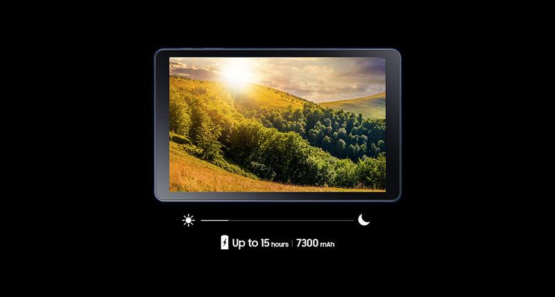 Tablet - Samsung Galaxy Tab A2 10.5 T595 - ថាមពលថ្ម