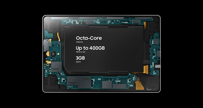 Tablet - Samsung Galaxy Tab A2 10.5 T595 - កម្លាំងម៉ាសុីន