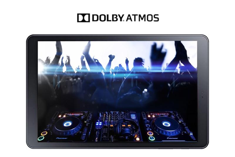 Máy tính bảng  Samsung Galaxy Tab A 10.5 inch - Công nghệ âm thanh Dolby Atmos | Thegioididong