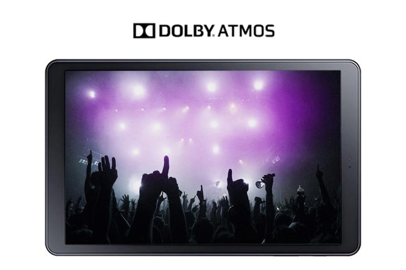 Máy tính bảng Samsung Galaxy Tab A 10.5 inch - Giải trí thoải mái với công nghệ âm thanh Dolby Atmos | DienmayXANH