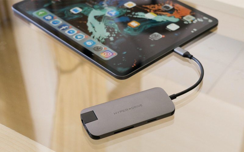 Cổng kết nối USB C đa chức năng trên Máy tính bảng iPad Pro 11 inch 64GB Wifi (2018)