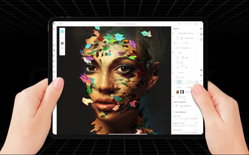 Cấu hình mạnh mẽ trên Máy tính bảng iPad Pro 11 inch 256GB Wifi (2018)