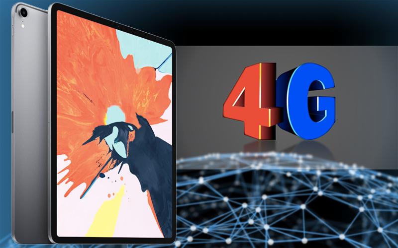 Khả năng kết nối 4G trên Máy tính bảng iPad Pro 11 inch Wifi Cellular 64GB (2018)