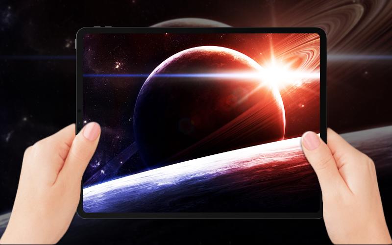 Màn hình sắc nét từng chi tiết trên Máy tính bảng iPad Pro 11 inch Wifi Cellular 64GB (2018)