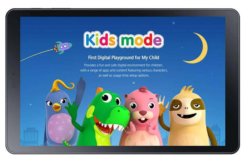 Chế độ Kids Mode máy tính bảng Samsung Galaxy Tab A S Pen 8 inch 2019