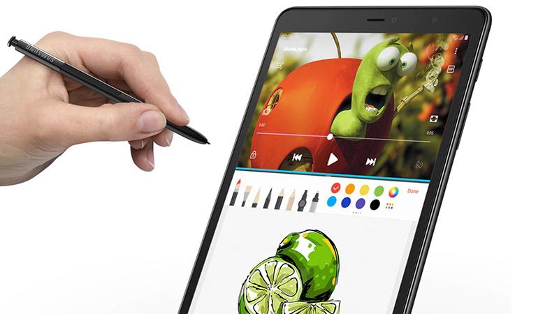 Trải nghiệm máy tính bảng Samsung Galaxy Tab A S Pen 8 inch 2019
