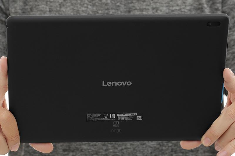 Camera sau của máy tính bảng Lenovo Tab E10 TB-X104L Đen chính hãng