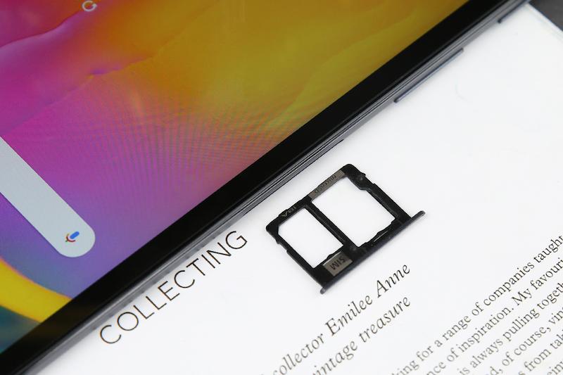 Máy tính bảng Samsung Galaxy Tab A 10.1 T515 (2019) | Khe sim và thẻ nhớ