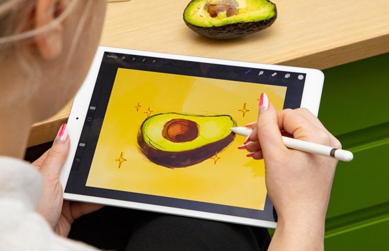 Màn hình của máy tính bảng iPad Air 10.5 inch Wifi 2019 chính hãng