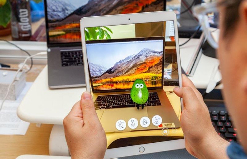 Camera sau của máy tính bảng iPad Air 10.5 inch Wifi 2019 chính hãng