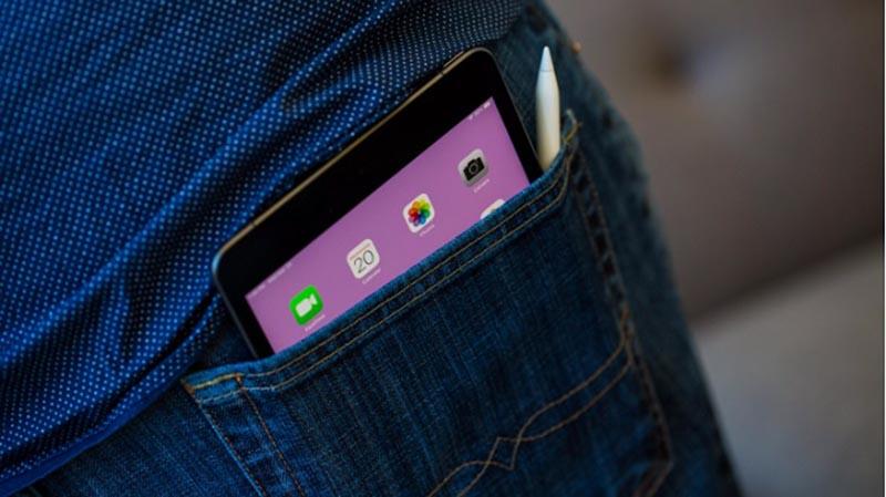 Thiết kế của máy tính bảng iPad Mini 7.9 inch Wifi 2019 chính hãng
