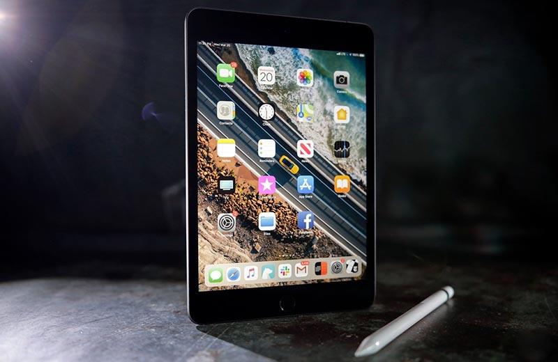 Màn hình của máy tính bảng iPad Mini 7.9 inch Wifi 2019 chính hãng