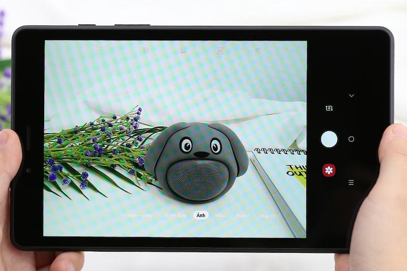 Máy tính bảng Samsung Galaxy Tab A8 8 inch T295 2019 | Giao diện chụp ảnh