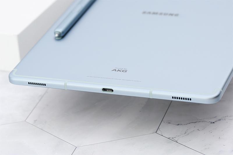 Máy tính bảng Samsung Galaxy Tab S6 | Sạc nhanh qua cổng USB Type C