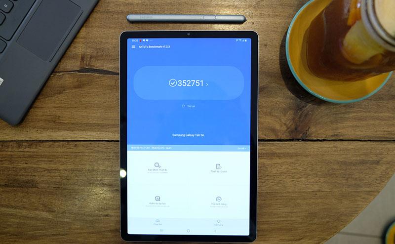 Máy tính bảng Samsung Galaxy Tab S6 | Điểm Antutu Benmark