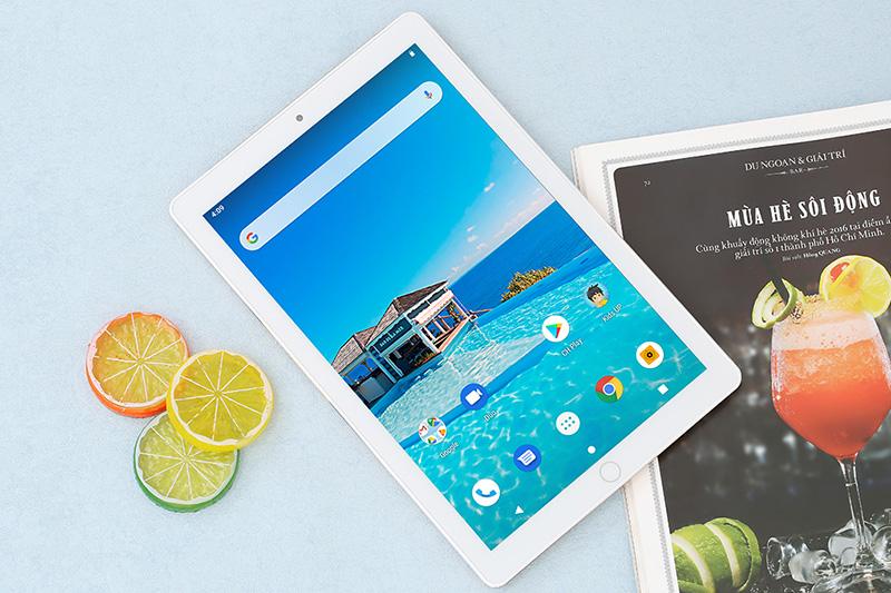 Thiết kế màn hình máy tính bảng Masstel Tab10 Pro