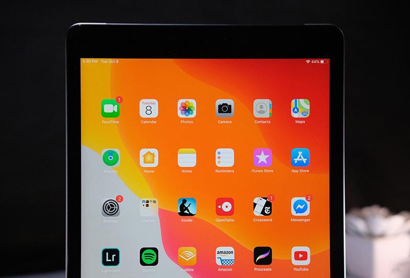 Điện thoại iPad 10.2 inch Wifi 32GB (2019) | Giao diện màn hình chính