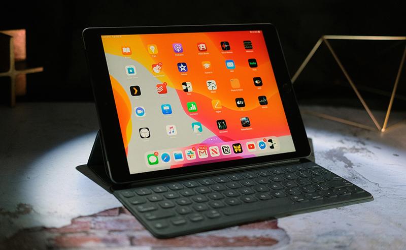 Điện thoại iPad 10.2 inch Wifi 128GB (2019) | Giao diện màn hình chính