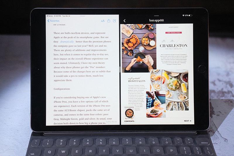 Điện thoại iPad 10.2 inch Wifi 128GB (2019) | Màn hình giải trí kích thước lớn