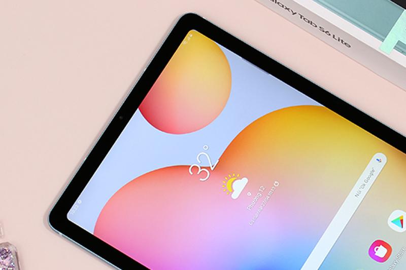 Galaxy Tab S6 Lite | Viền máy mỏng tăng tỉ lệ màn hình