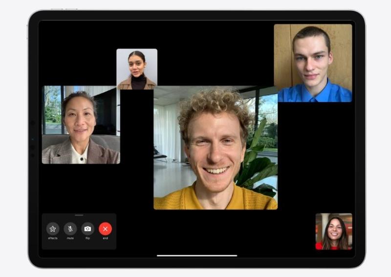 Camera TrueDepth ở mặt trước máy tính bảng iPad Pro 2020