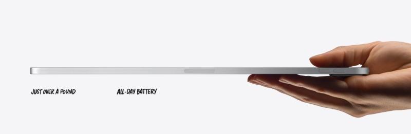 Máy tính bảng iPad Pro 11 inch Wifi Cellular 128GB | Cạnh bên được vát thẳng vuông vức