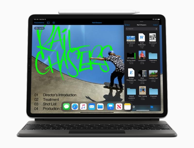 Máy tính bảng iPad Pro 11 inch Wifi Cellular 128GB | Chế độ đa nhiệm nhiều cửa sổ trên iPad OS