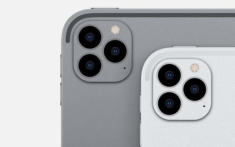 Cụm camera trên iPad Pro 12.9 2020