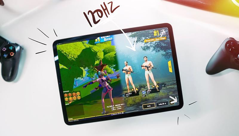chơi game với iPad Pro 12.9 2020