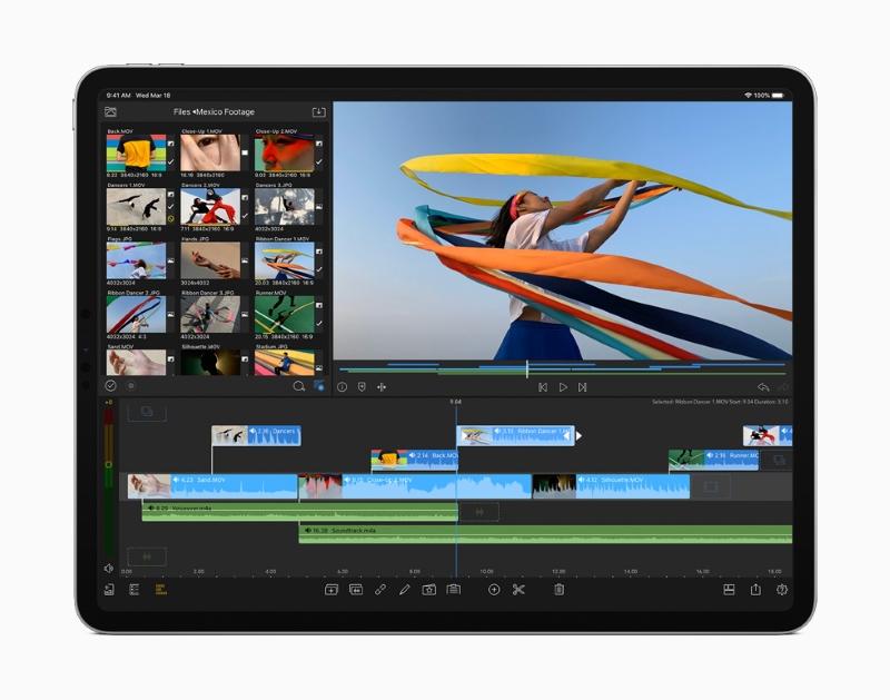 Máy tính bảng iPad Pro 12.9 inch Wifi 128GB (2020) | Hiệu năng mạnh mẽ