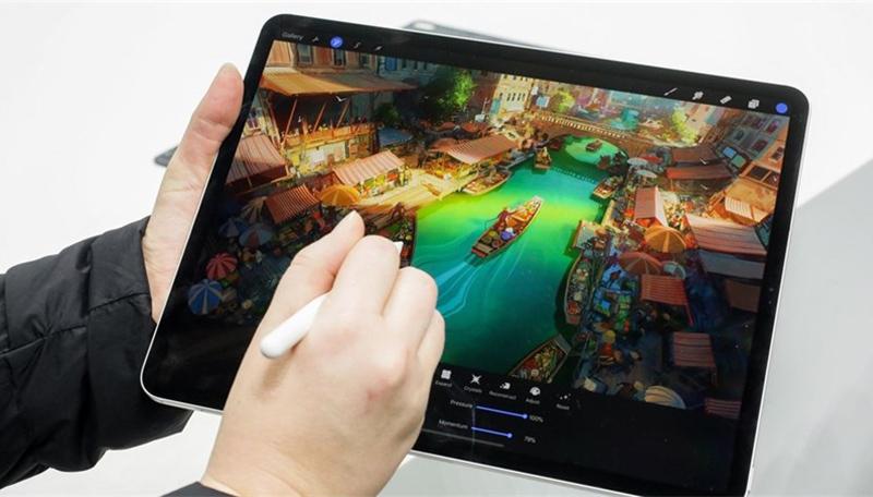 Máy tính bảng iPad Pro 12.9 inch Wifi 128GB (2020) | Khả năng chỉnh sửa video