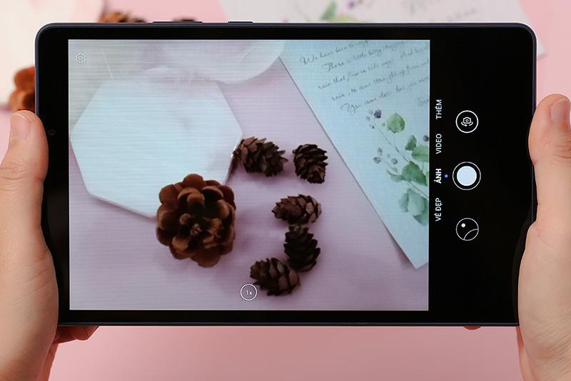 Máy tính bảng Huawei Matepad T8 | Giao diện camera