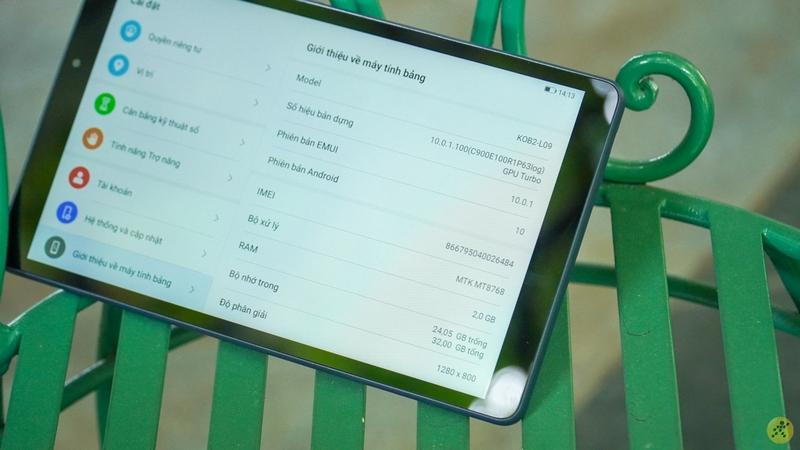 Máy tính bảng Huawei Matepad T8 | Màn hình lớn hiển thị được nhiều thông tin