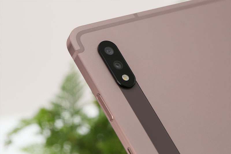Galaxy Tab S7   Hỗ trợ Camera kép