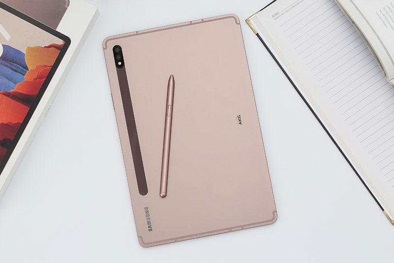 Thiết kế mặt lưng   Galaxy Tab S7