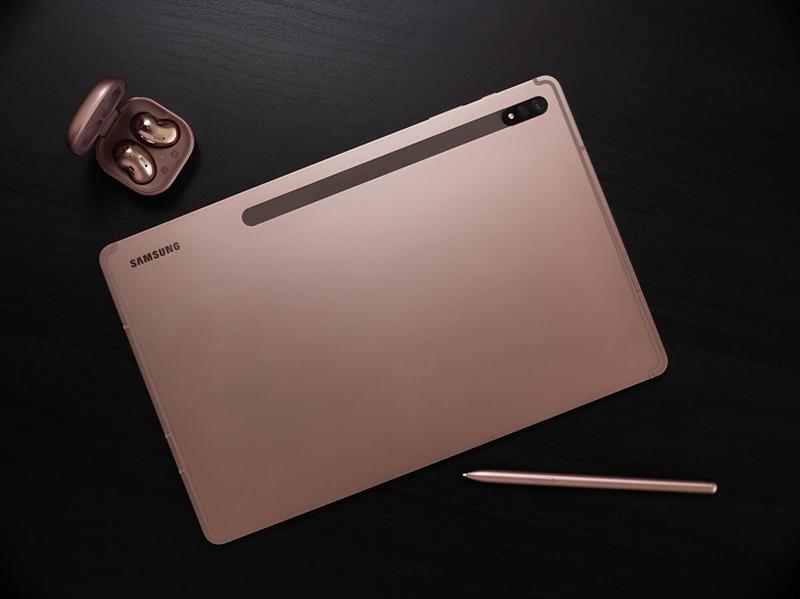 Mặt sau của máy tính bảng | Galaxy Tab S7 Plus