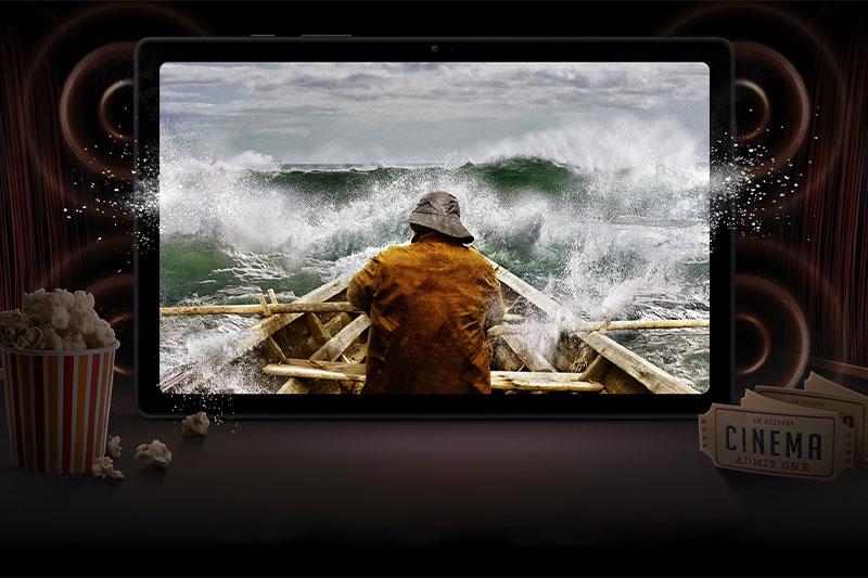 Máy tính bảng Samsung Galaxy Tab A7 (2020) | Hệ thống âm thanh ấn tượng