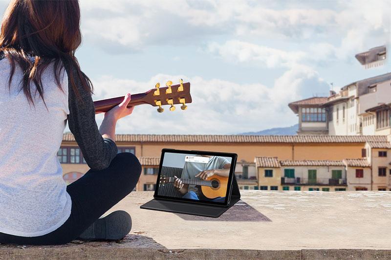 Máy tính bảng Samsung Galaxy Tab A7 (2020) | Kết mạng 4G LTE mọi lúc mọi nơi
