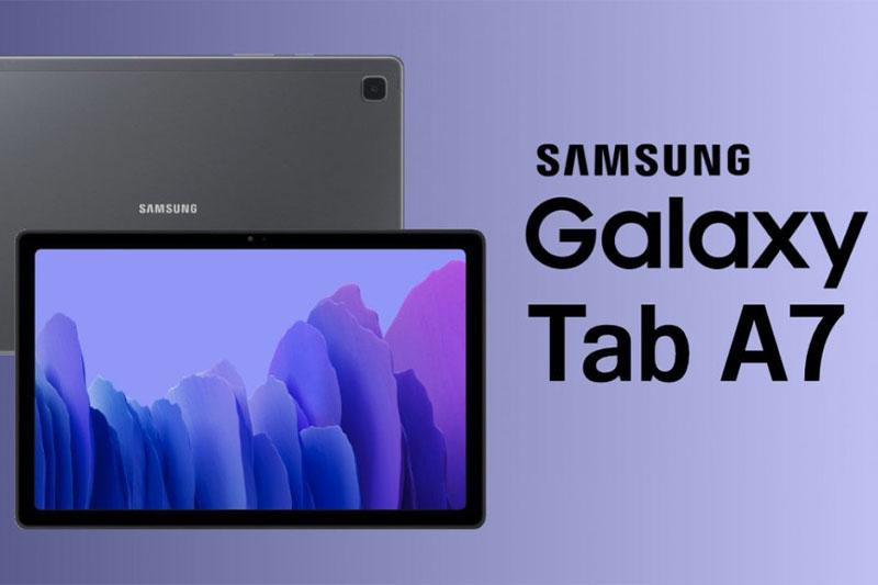 Máy tính bảng Samsung Galaxy Tab A7 (2020) | Màn hình lớn, trải nghiệm giải trí bất tận