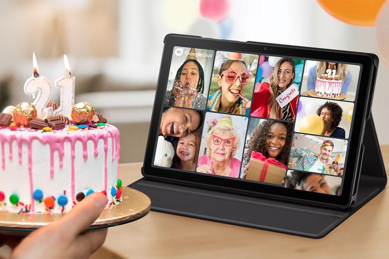 Máy tính bảng Samsung Galaxy Tab A7 (2020) | Khả năng quay video chất lượng Full HD 1080
